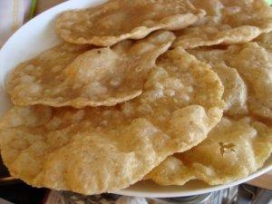 poori, indisk, brød, hvedemel, grahamsmel