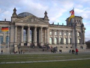 Rigsdagen, Berlin, rejse, udstilling