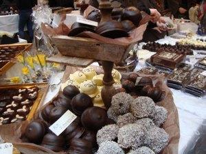 chokoladefestival, festival, event, arrangement, chokolade